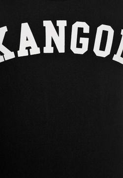 Футболка Kangol                                                                                                              черный цвет