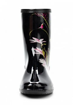 Резиновые Полусапоги Keddo                                                                                                              черный цвет