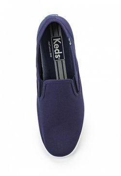 Слипоны Keds                                                                                                              синий цвет