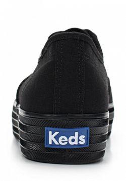 Кеды Keds                                                                                                              черный цвет