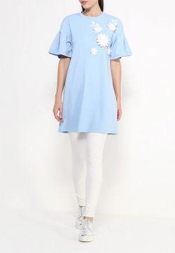 Блуза Lamania                                                                                                              голубой цвет