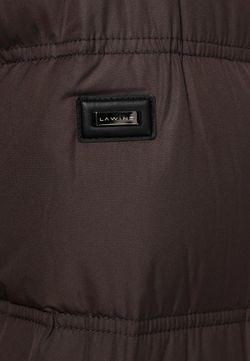 Пуховик Lawine                                                                                                              коричневый цвет