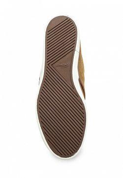 Топсайдеры Lacoste                                                                                                              коричневый цвет