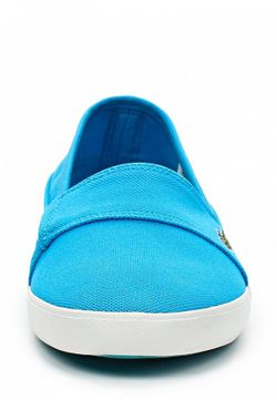 Слипоны Lacoste                                                                                                              голубой цвет