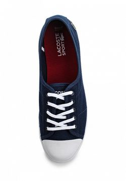 Кеды Lacoste                                                                                                              синий цвет