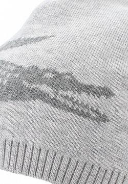 Шапка Lacoste                                                                                                              серый цвет