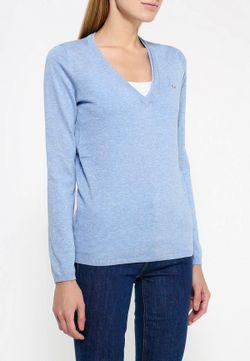Пуловер Lacoste                                                                                                              голубой цвет