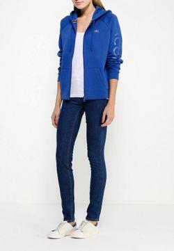 Толстовка Lacoste                                                                                                              синий цвет