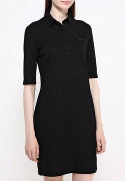 Платье Lacoste                                                                                                              чёрный цвет