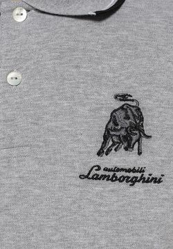 Поло Automobili Lamborghini                                                                                                              серый цвет