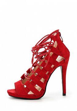 Босоножки La Bottine Souriante                                                                                                              красный цвет