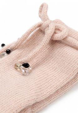 Перчатки Labbra                                                                                                              розовый цвет