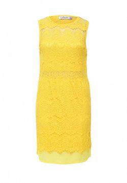 Платье La Coquette                                                                                                              желтый цвет