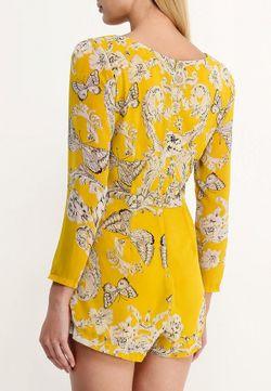 Комбинезон La Coquette                                                                                                              желтый цвет
