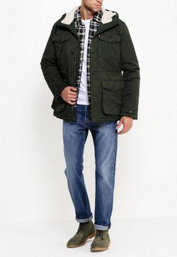 Куртка Утепленная Levi's®                                                                                                              зелёный цвет