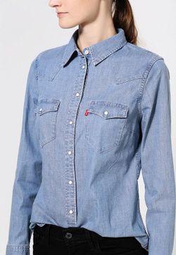 Рубашка Джинсовая Levi's®                                                                                                              голубой цвет