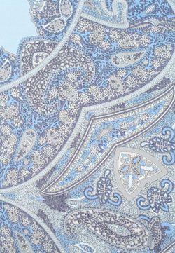 Платок Le camp                                                                                                              голубой цвет