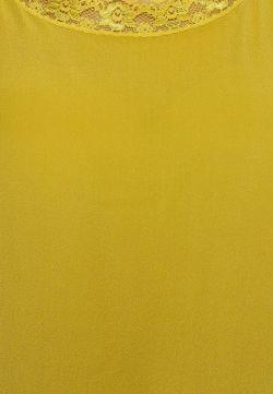 Топ Liu Jo Jeans Liu •Jo Jeans                                                                                                              желтый цвет