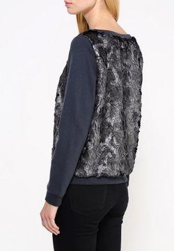 Свитшот Liu Jo Jeans Liu •Jo Jeans                                                                                                              серый цвет