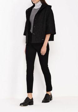 Полупальто Liu Jo Jeans Liu •Jo Jeans                                                                                                              чёрный цвет