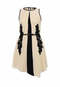 Платье Little Mistress                                                                                                              бежевый цвет