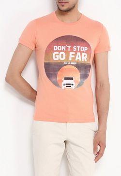 Футболка Liu Jo Uomo                                                                                                              оранжевый цвет