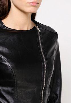 Куртка Кожаная LOST INK                                                                                                              черный цвет