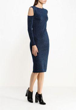 Платье LOST INK                                                                                                              синий цвет