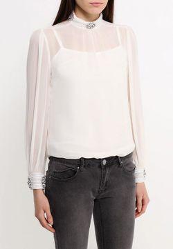 Блуза LOST INK                                                                                                              бежевый цвет