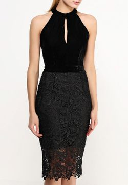 Платье LOST INK                                                                                                              чёрный цвет