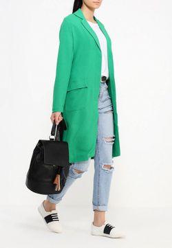 Пальто LOST INK                                                                                                              зелёный цвет