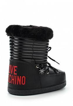 Луноходы Love Moschino                                                                                                              чёрный цвет