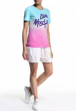 Футболка Love Moschino                                                                                                              голубой цвет