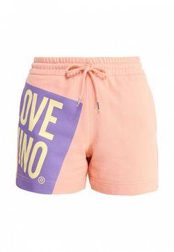 Шорты Love Moschino                                                                                                              розовый цвет