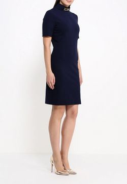 Платье Love Moschino                                                                                                              синий цвет