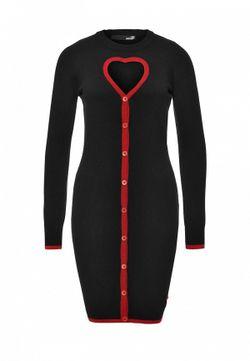 Платье Love Moschino                                                                                                              черный цвет