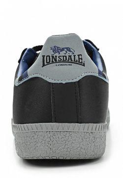 Кеды Lonsdale                                                                                                              чёрный цвет