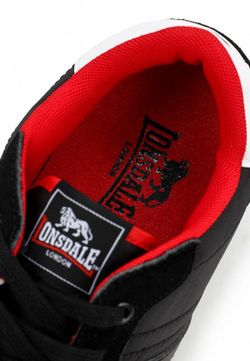 Кроссовки Lonsdale                                                                                                              черный цвет
