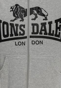 Толстовка Lonsdale                                                                                                              серый цвет