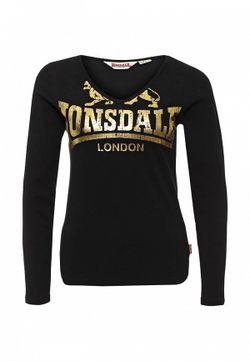 Лонгслив Lonsdale                                                                                                              черный цвет