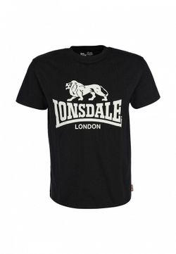 Футболка Lonsdale                                                                                                              черный цвет