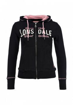 Толстовка Lonsdale                                                                                                              черный цвет