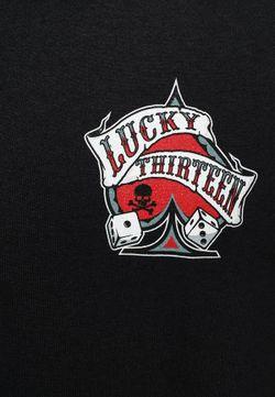 Футболка Lucky 13                                                                                                              черный цвет