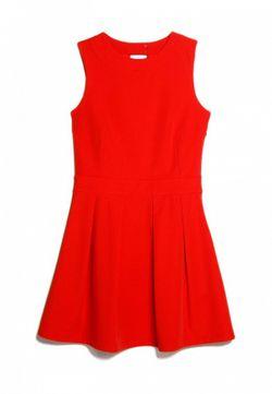 Платье Mango                                                                                                              красный цвет