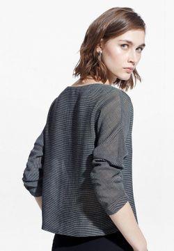 Блуза Mango                                                                                                              серый цвет