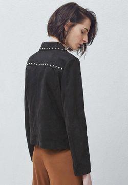 Куртка Mango                                                                                                              чёрный цвет