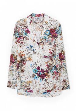 Блуза Mango                                                                                                              многоцветный цвет