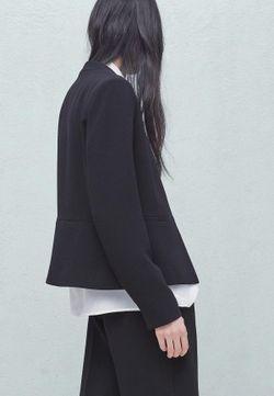 Жакет Mango                                                                                                              чёрный цвет