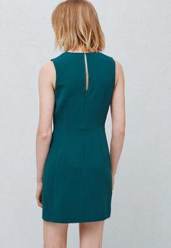 Платье Mango                                                                                                              зелёный цвет