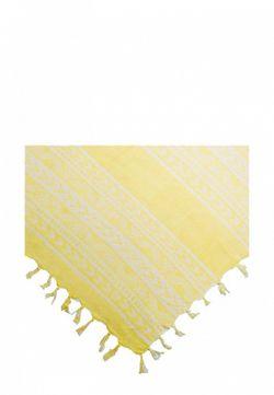 Шарф Mango                                                                                                              желтый цвет